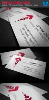 Simple Business Card by myjilson