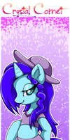 Bookmark:Crystal Comet by Extra-Fenix