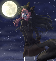 +* Howl to the Moon *+ by Suika-X