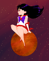 Sailor Mars by ScrapCity