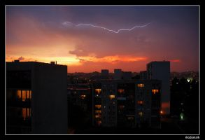 Thunder or Sunset by adamsik