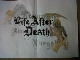 Life After Death (R.E Homework) by FireWitch25