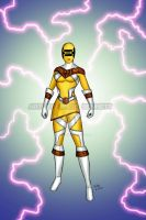 Power Rangers Zeo (Super Zeo Yellow) by blueliberty