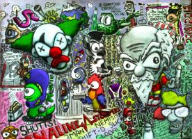 Crazy Doodle Page by SuperShutts