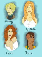 Friends' Characters by Elorviel