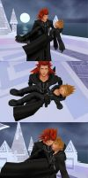 Axel roxas, -The Loss Of a Friend- by oOKira97Oo