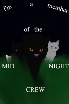 I'm a MEM-BER of the MID-NIGHT CREW by XxLaLa-Chan5000xX