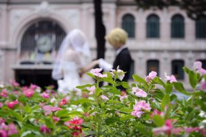 Hetalia USUK happy Wedding by snagsephy