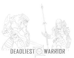 Deadliest Warrior by Ronin-ink
