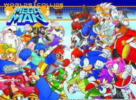 Sonic/Megaman Crossover (Megaman #25) by RocketSonic