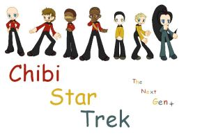 Chibi Star Trek The Next Gen. by TeamNarutox