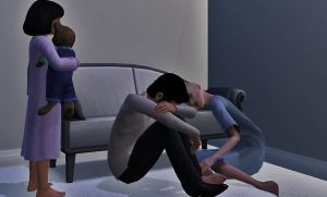 Death at home by TheSims3Pets