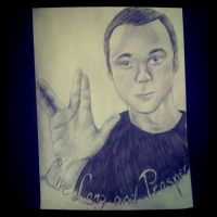 Sheldon Cooper by Super-Midget