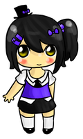 New Chibi Style Perhaps by HannahFreakinBanana