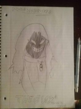 The Guy (Disturbed Mascot) by Doomdestroyer98