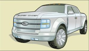 Ford Super Chief concept truck by CRCavazos