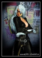 Black Cat by Aphrodite-NS