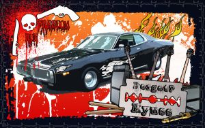 Kyuss V2 Dodge Charger by FacelessRebel
