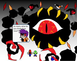 The True Epic Final Battle - UCC Darx's 2nd phase by Rotommowtom