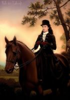 Equestrienne ~ Elisabeth of Austria/Hungary by SeelederZukunft
