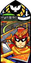 Smash Bros - Captain Falcon by Quas-quas
