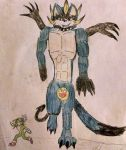 Fusion 1:The Tank Bros ::Beast Form:: by ShineSonic07