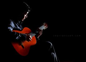 Man on Guitar by septiansyah