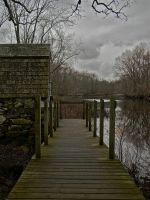 Old North Boat House By Kweigel-d51obvi by kweigel3