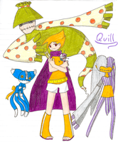 Challenger Approaching: Quill by iducki