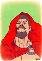Red Riding Hood by AllMaleArt