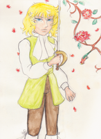 Young lady oscar by X-Tidus-kisses