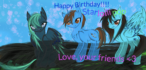 Happy Birthday Starlollipop! by Umbra-Nine