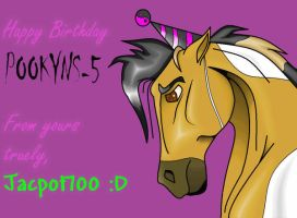Happy Birthday Pookyns by Jackpot700