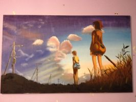 5 centimeters per second by ShiroYuki-tan