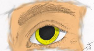 Eye-almost done by Nina-13draco