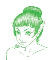 Fee verte by Shamallow