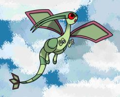 Flygon wonder by Oronatur