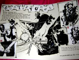 Art coursework pg1 by Entirity
