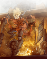 vash the stampede by BlokkenSan