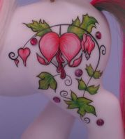Bleeding Hearts Symbol by eponyart