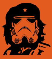 Che the Trooper T-Shirt Final by nosurprises