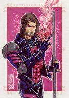 gambit marvel 70th by johnjackman