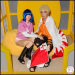 Naruto 7th Hokage and Hinata // NaruHina by Naruto-Cosplay-Cadiz