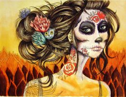 Dia De los Muertos by Goodbye-to-you