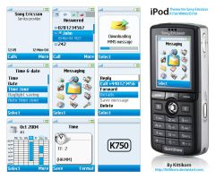 iPod for K750-W800-D750 by kittikorn