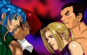 KingOfFighters X Tekken by Shadow-Harvest