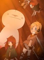 .: Attack on SupGuy :. by LittleMissZKits