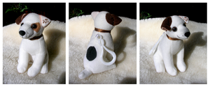 Wishbone Sitting Keychain by The-Toy-Chest
