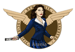 Agent Carter by arania