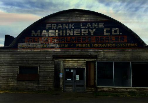Abandoned 1940s-50s era Tractor Dealership by humloch